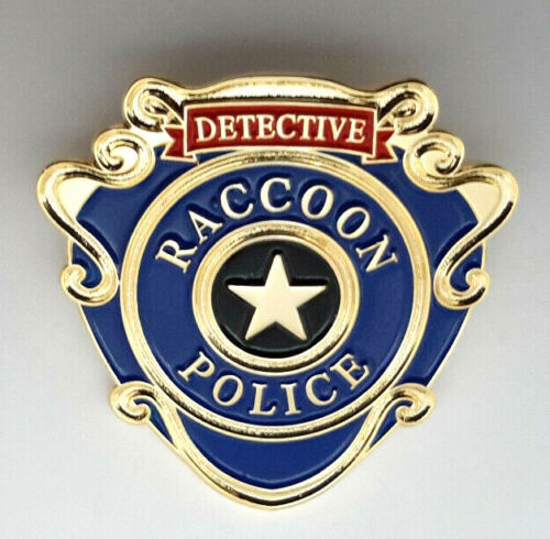 """Resident Evil Raccon Police Detective 1.25"""" Pin - Mailed from USA (REPI-06)"""