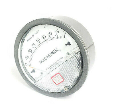 Dwyer Magnehelic 2002c Pressure Gauge 0-2 Inches Of Water 15psig