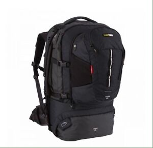 Black wolf Cuba 65lt backpack Cranbourne North Casey Area Preview