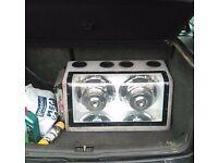 Car sub n amp very loud
