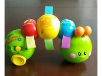Vtech baby roll & wiggle caterpilar