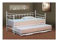 White single daybed