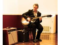 Guitar Lessons London - world class guitar lessons with Stefan Joubert in Mayfair W1 and City EC4