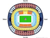 2 x NFL tickets Miami Dolphins v New Orleans Saints