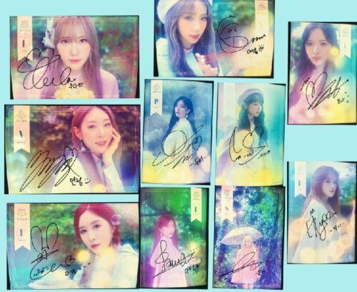 signed WJSN Cosmic Girls 宇宙少女 autographed group photo 5*7 K-POP 12 version 92018
