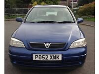 2002 Vauxhall Astra automatic petrol 1.6
