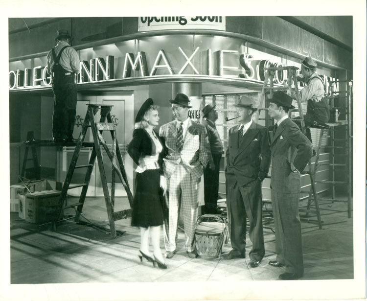 MARIE WILSON Harvard, Here I Come Orig 1941 Photo