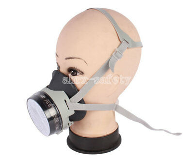 Rubber Half Face Respirator Chemical Pesticide Spray Painting Gas Mask St-fdx
