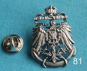 Marine Anker Reichsadler Adler Abzeichen Militaria Pin Button Badge Anstecker 81