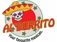 Alburrito are looking for a member of the team
