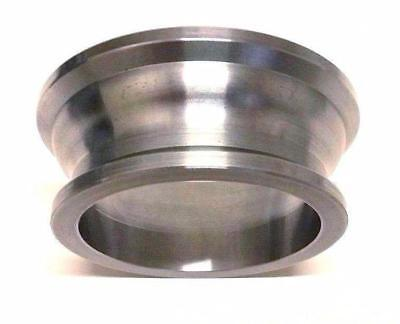 """Used, Aluminum 2-1/2"""" to 3"""" Turbo Exhaust Downpipe V-Band Adapter for sale  Surprise"""