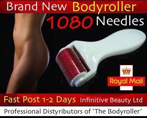 New-1080-Titanium-Micro-Needle-Skin-Roller-Acne-Scars-Stretch-Mark-Derma-Wrinkle
