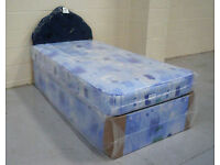 *14-DAY MONEY BACK GUARANTEE!** Single Budget Bed and Mattress - SAME DAY DELIVERY!