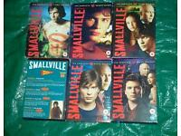 Smallville, series 1 to 6 box sets