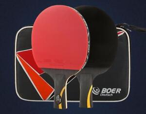 I Need That! BOER Hybrid 9.8 2 Layers Carbon Fiber 5 Layers Wood Table Tennis Double Pimples-in Rubber Ping Pong Racket