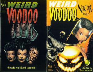 VEROTIK WORLD #3 WEIRD VOODOO Ltd. Ed. FAN & ALT COVERS DANZIG OOP VEROTIK