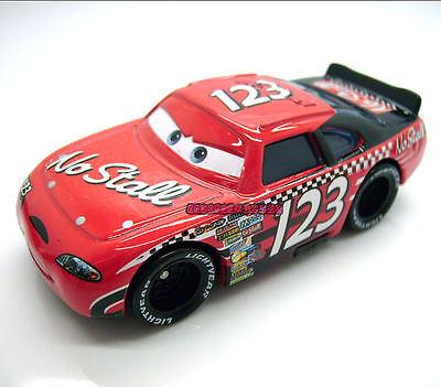 Disney Pixar Movie Cars Diecast Toy Piston Cup # 123 Todd Marcus No Stall Loose