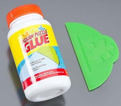 NEW Masterpieces Puzzle Glue 5oz Jar MST50202