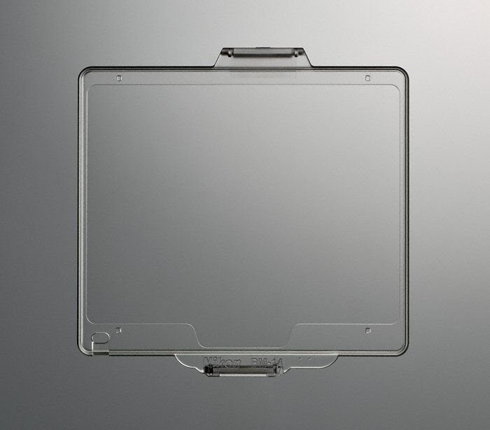New Hard Pastic* Screen Protector BM-14 LCD Cover Nikon DSLR D600/D610 NP2