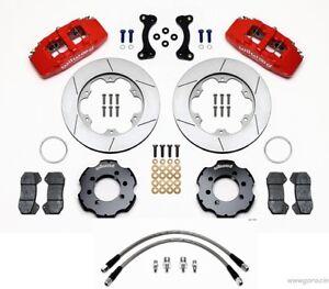 Wilwood Dynapro 6 Piston Front Big Brake Kit fits 1989-05 Mazda Miata MX-5,lines