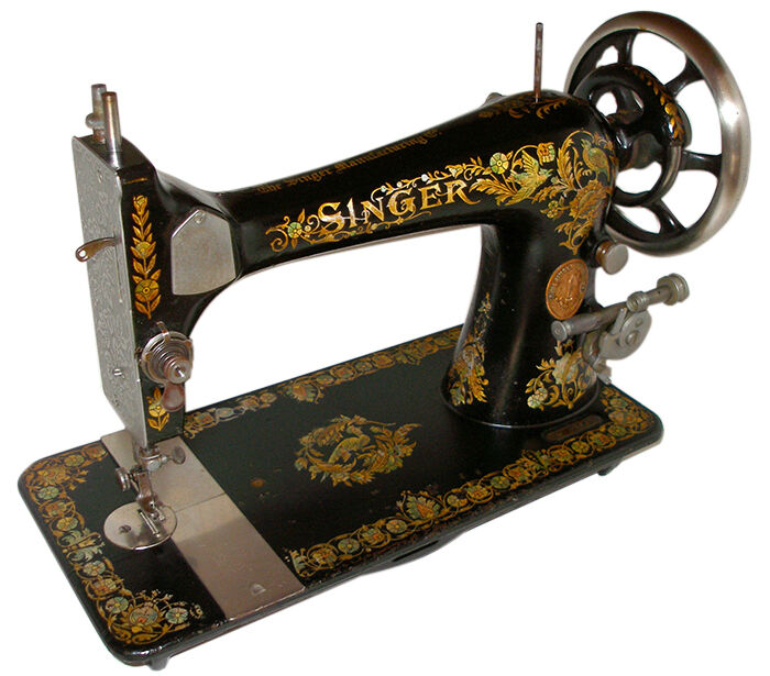 Dating antique singer sewing machines