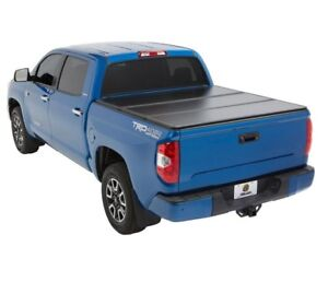 05-18 Toyota TACOMA 5.5ft short Bed Hard Solid Trifold Clamp-On Tonneau Cover