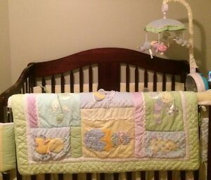 Snug as a bug crib bedding set