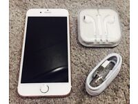 Apple iPhone 6, UNLOCKED, immaculate