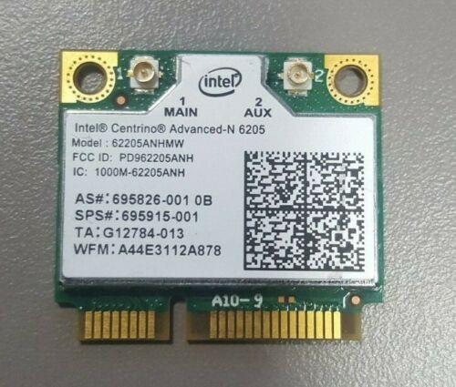 HP EliteBook Intel WiFi Card  695915-001 695826-001  62205ANHMW