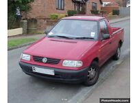 WANTED! MK2 Caddy Pickup 1.9D