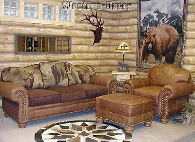 Log Cabin Wallpaper Real Log Look Rustic Wall Paper Double Roll Dd688