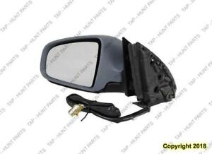 Door Mirror Power Driver Side Heated Ptm Audi A4 2005-2008