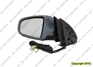 Door Mirror Power Driver Side Heated Ptm Audi A4 2002-2005