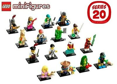 LEGO Series 20 Collectible Minifigures 71027 - Complete Set SEALED (IN HAND)