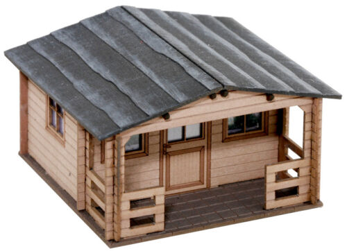 Noch 14435 Tt Gauge, Allotment House (Laser-Cut Minis Kit) # New IN Boxed#