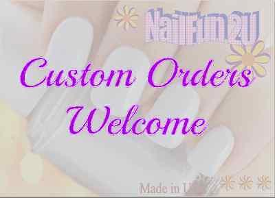 Custom Orders ...