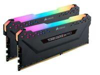 Corsair Vengeance RGB PRO Black 32GB (2x16GB) 3600MHz AMD Ryzen Tuned DDR4 Memory Kit