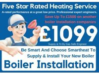 Worcester & Vaillant £1499 Supply & Fit /Expert Boiler Installation, Repair&Service/Gas certificate*