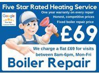 Emergency Boiler Repair /Expert Boiler Installation & Service /Supply & Fit Boiler Deals /Gas Safe