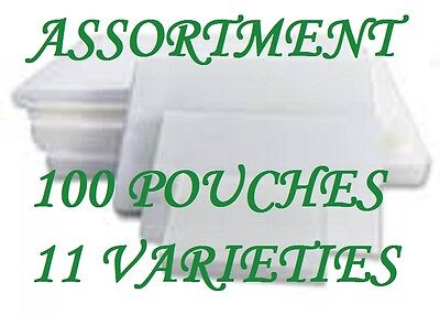 Assortment Pack Laminating Laminator Pouches 11 Varieties 100 Pc Letter 5 Mil Cq