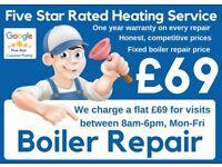 Emergency Boiler Repair /Expert Boiler Installation & Service /Supply & Fit Boiler Deals /Gas Safe#