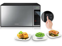 ***NEW***Samsung ME0113M1 MIRROR Solo MWO with Sensor Cook 32 Litre 1000 watt Microwave