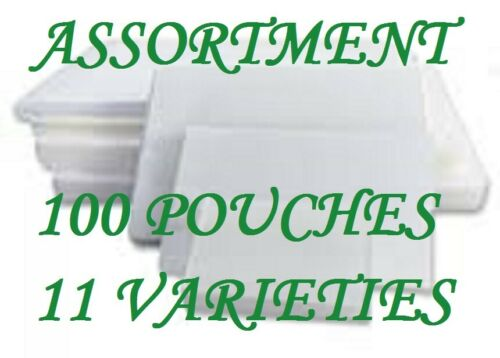 Assortment Pack Laminating Laminator Pouches Sheet