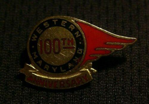 1952 WESTERN MARYLAND RAILWAY RAILROAD 100th ANNIVERSARY LAPEL PIN