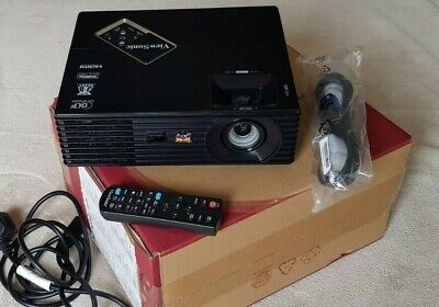 ViewSonic PJD7720HD  Full HD DLP Home Cinema 3D Projector - boxed
