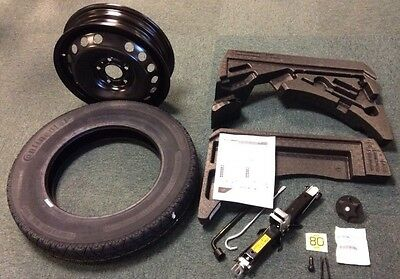 genuine nissan qashqai 16 complete spare wheel kit foams jack brace tyre ebay. Black Bedroom Furniture Sets. Home Design Ideas