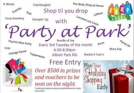 party at the park Albion Park Shellharbour Area Preview