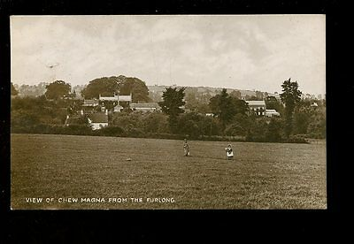 Somerset-CHEW-MAGNA-View-Furlong-Milton-1915-RP-PPC-Milton-mailed-from-post-mark