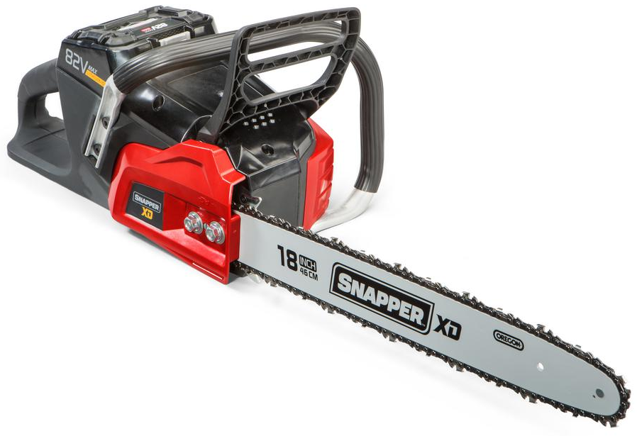 Snapper Chainsaw 18 in. 82-Volt Lithium-Ion Cordless Automat