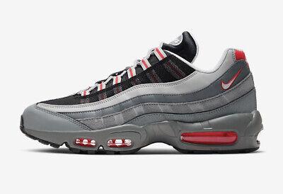 BRS* Mens Nike Air Max 95 Essential Trainers Grey UK 8.5/EU 43